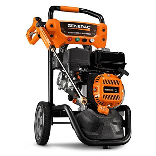 Generac 7019 OneWash 3,100 PSI, 2.4 GPM, Gas Powered Pressure Washer