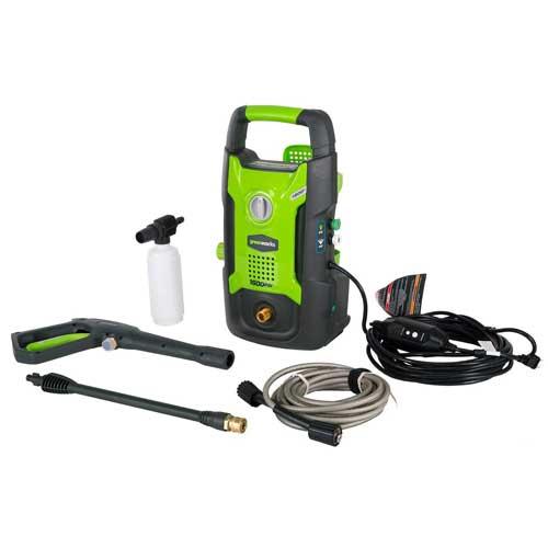 Green works Pressure Washer machine GPW1602 - Ideal Pressure Washer for the Busy Body