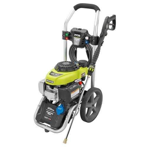 Ryobi 2800 PSI Portable Honda best Gas Power Pressure Washer 2.3 GPM