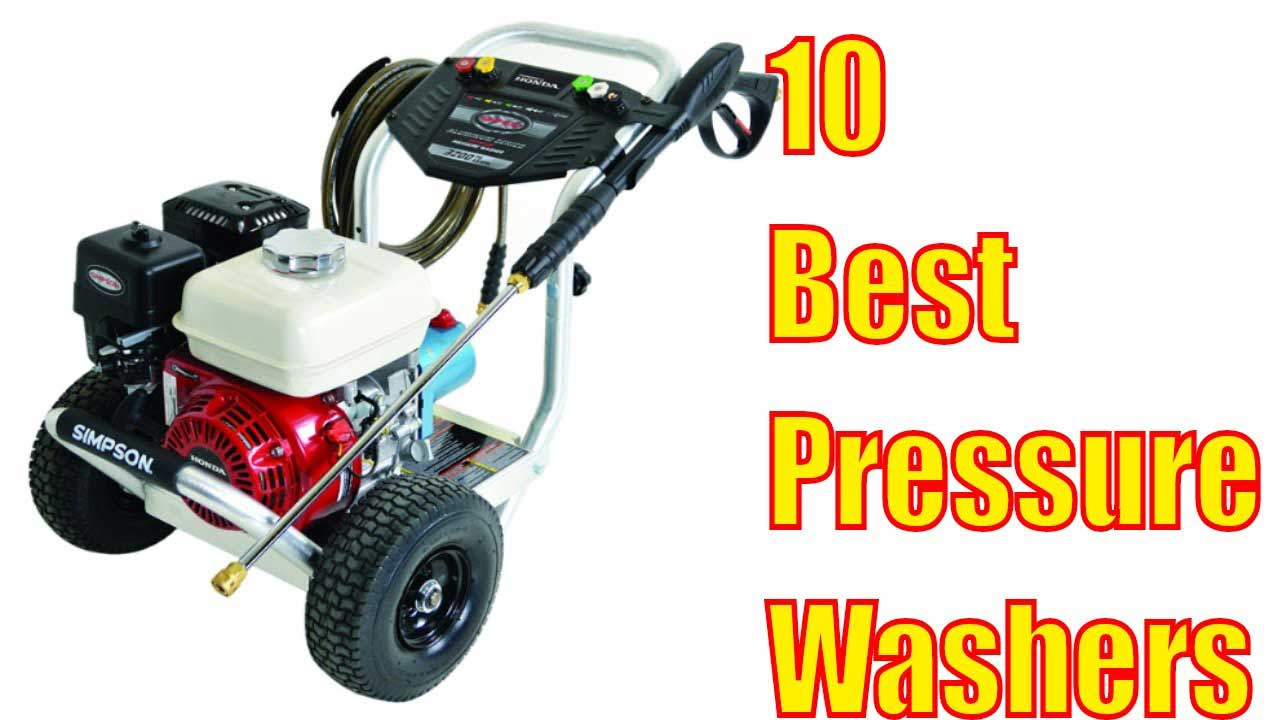 Power Washing Machine >> 10 Best Pressure Washer Machines 2019 Reviews Buying Guide