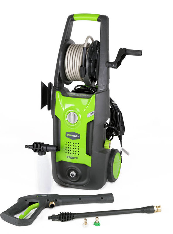 small electric power washer