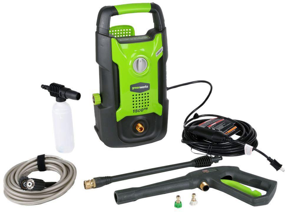 Greenworks 1500 PSI 13 Amp 1.2 GPM Pressure Washer