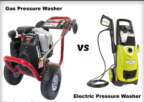 electric pressure washer vs gas