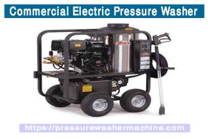 Commercial Electric Pressure Washer