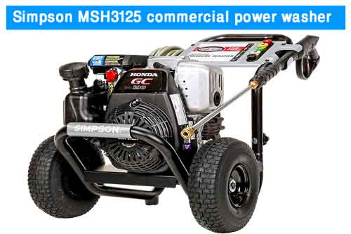 electric commercial power washer