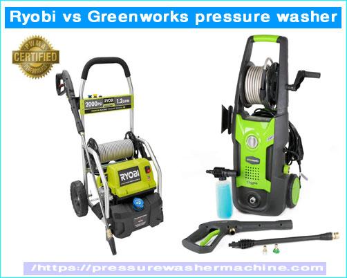 Ryobi vs Greenworks