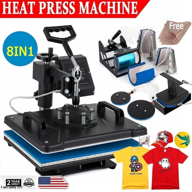 Brief Overview on Heat Press Machine | Advantages & disadvantages