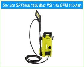 Sun Joe SPX1000
