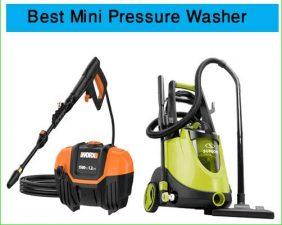 best mini pressure washer